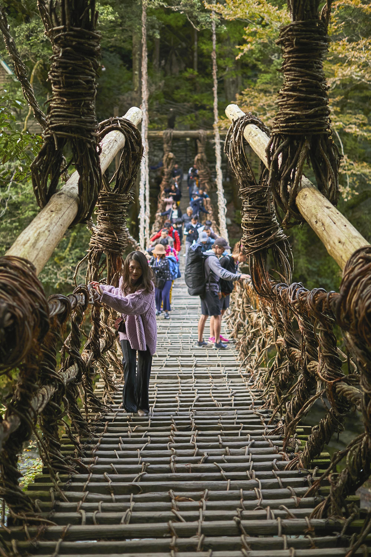 霸氣窮遊 Japan 日本 四國 祖谷溪 嶺北 本山 日本三大秘境 日本三大奇橋 蔓橋